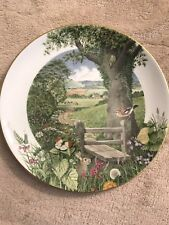 A Country Path In May By Peter Barrett Limited Edition 1979 With Wall Mount