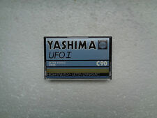Vintage Audio Cassette YASHIMA UFO I C90 From 1979 - Fantastic Condition !!