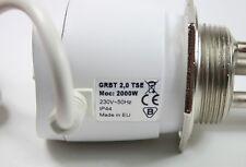 Elektroheizstab Heizpatrone Heizstab Pufferspeicher 2000 Watt 1 1/2 Zoll