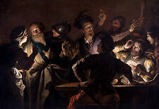 Gerard Seghers - The Denial of St. Peter, Christian Poster, Art Canvas Print