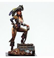 Kabuki Studio Anne Bonny Pirata Limited Edition 75mm Kit Modelo Sin Pintar Resina