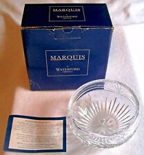 "WATERFORD MARQUIS  CALAIS  6"" HEAVY LEAD  CRYSTAL CANDY/NUT BOWL , SIGNED"