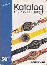 KATALOG FUR SWATCH UHREN - BONELLO'S - Versione Internazionale - 1993