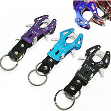 Climb Hook Carabiner Clip Lock Keyring Keychain Key Ring Chain Colorful