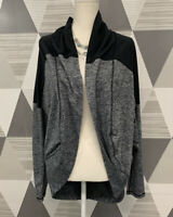 Zella Women's Size XS-S Grey Long Sleeve Stretch Athletic Top Blouse #12C12
