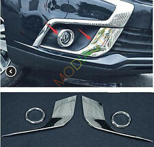 4pcs For Mitsubishi Outlander Sport 2016 2017 Front Fog light Cover trim