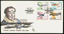 Mayfairstamps Swa 1989 Airplane Combo Bruno Buchner Aviation wwk_36935