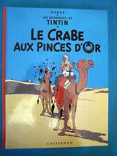 """TINTIN """" LE CRABE AUX PINCES D'OR """" 1981"""