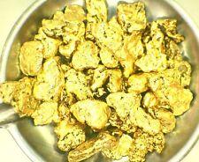 1 Stk. mit  4 mm  - 0,051 Gramm - ECHTE, NATÜRLICHE KLEINE GOLD FLOCKE / NUGGET