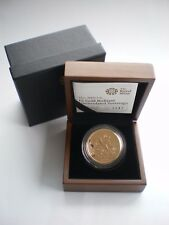 2009Royal Mint GOLD £5 COIN ST GEORGE & THE DRAGON QUINTUPLE SOVEREIGN