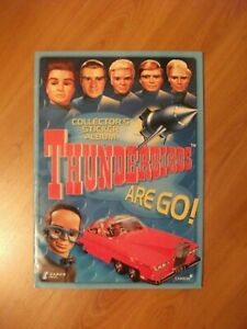 Thunderbirds Are Go! 2002 - Full set of stickers + Album for the 132 stickers