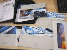 MERCEDES A-CLASS OWNERS MANUAL HANDBOOK PACK 2000-2004 AND SERVICE BOOK