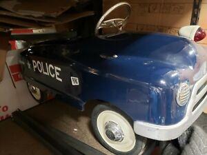 ORIGINAL BMC POLICE PEDAL CAR