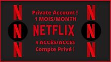 ✅ Netfl1x account HD 4 Screen | 1 Month 📆 | Fast Delivery 🚀| Guarantee 💯