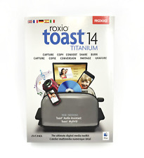 Roxio Toast 14 Titanium Ultimate digital media toolkit for Mac #6738