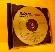 MAXI PROMO Single CD Madonna Nothing Fails 2TR 2003 Progressive House MEGA RARE