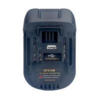 BLACK&DECKER/PORTER-CABLE/STANLEY 20V Li-ion Battery to Makita18V BL1830 Adapter