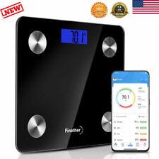 BT Smart Body Bathroom Weight Scale Fat Bones BMI Digital Fitness 400lbs/180kg