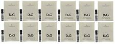12 X D&G DOLCE GABBANA #6 L'AMOUREUX WOMEN 0.05 OZ 1.5 ML EDT SPRAY SAMPLE VIAL