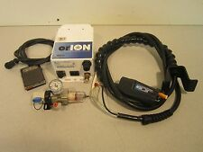 Simco orION Ionizing Air Nozzle Controller Foot Pedal, Gun, Pressure Gauge, 120V