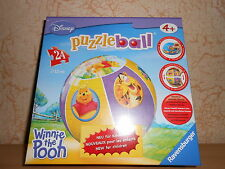 puzzle ball ravensburger 24 pièces disney WINNIE L'OURSON - sous blister