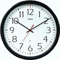 Timex 46004t Set and Forget Wall Clock 14-inch