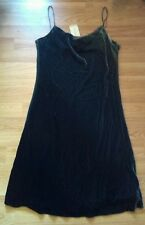 BNWT River Island size 12 grey velour party dress cowl neck sleeveless