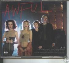 hole -awful  promo cd  nirvana , love