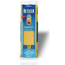 Nudeln Pasta Spaghetti n° 12 500 gr. - De Cecco