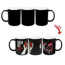 █ Green Day American Idiot Hot Water Color Changing Coffee Mug Cup BS014