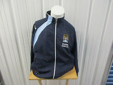 VINTAGE LE COQ SPORTIFF MANCHESTER CITY LARGE SEWN ZIP-UP TRACK JACKET 2008
