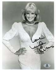 LINDA EVANS DYNASTY BAS BECKETT AUTHENTICATION COA SIGNED 8X10 PHOTO AUTOGRAPH