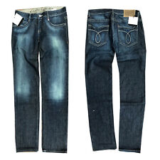 Calvin Klein Damen Jeans Hose Straight Leg Gr. W28 L34 Blau NEU