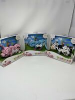 Word World Plush Lot Magnetic Letters: Cat; Pig; Cow! All Brand New!!! Rare!!
