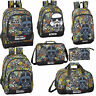 Star Wars GALAXY Backpack Boys Rucksack Travel Holiday School Bag Lunch Bag
