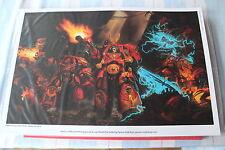Games WORKSHOP SPACE HULK cartel impresión de arte de edición limitada de Terminator Nuevo Y En Caja Nuevo