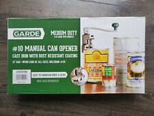 Garde #10 Can Manual Can Opener New