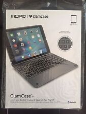 "BRAND NEW! Incipio ClamCase+ Backlit Keyboard Case for iPad Pro 9.7"" Space Gray"