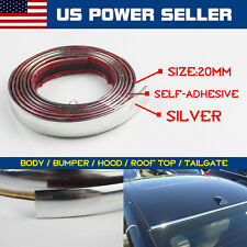 "120inch Molding Trim Strip Tape Chrome 3/4"" For Car Body Rear Door Side (Fits: Chrysler Concorde)"