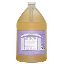 Dr. Bronners Pure-Castile Liquid Soap - Lavender, 1 Gallon