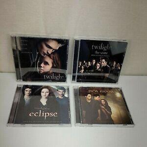 Twilight Saga Soundtracks NEW MOON Eclipse Twilight The Score Music lot of 4