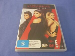 Keeping Up With the Kardashians DVD 3 Disc Set Season 12 Part 2 Region 2, 4