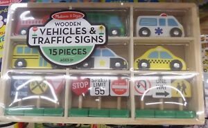Melissa & Doug - Vehicles & Traffic Signs
