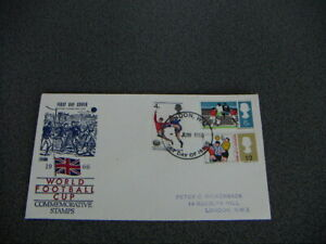 Fussball 1966 -FDC-Brief- World Cup