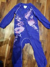 purple and pink diesel baby grow. 18 months