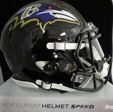 BALTIMORE RAVENS Full Size AUTHENTIC SPEED Helmet - With VISOR (NFL LICENSED)