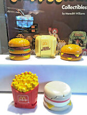 SET of (5) 1st Series McDONALD'S 1987 FOOD CHANGEABLES TRANSFORMERS ROBOTS