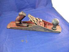 "Antique Wood Plane - No 5.    Pat Apld For.    14"" Long"