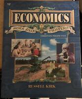 A Beka Book Economics Work & Prosperity Student Textbook High School Grade 12