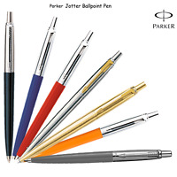 Genuine Parker Jotter Ballpoint Ball pen Silver red blue black Orange Grey gold